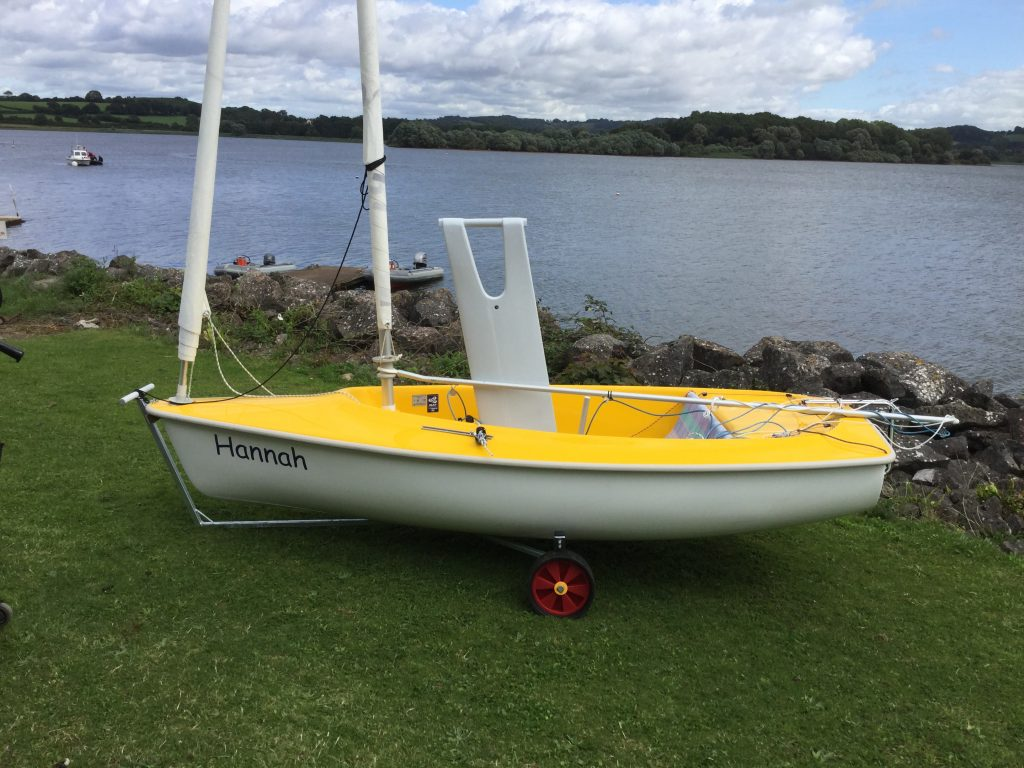 Hansa 303 Wide Access Dinghy